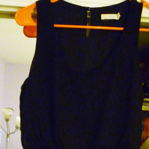 Lush Juniors M dress black above knee lined poly